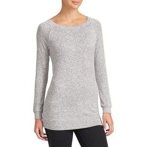 Athleta Luxe Pose Gray Pullover Sweatshirt Tunic